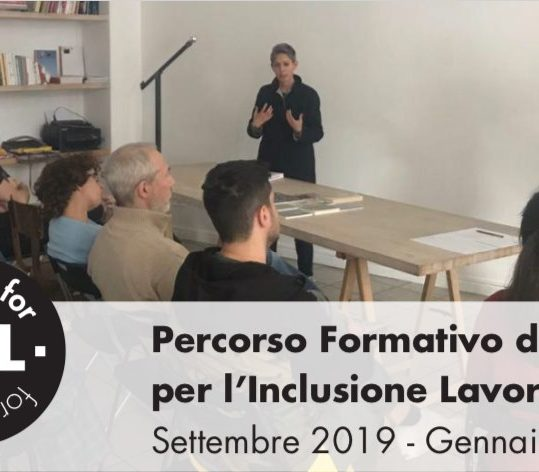 09.2018/01.2020 – Percorso Formativo Design for All for Design